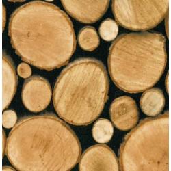 TAP - 11617 Tapeta Logs 90cm x 15m