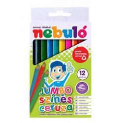 NB15 -  Farebné pastelky trojhranné 12