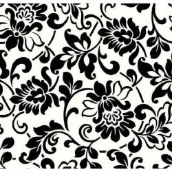 TAP-10246  Tapeta-Herittage Black/White 45cmx15m