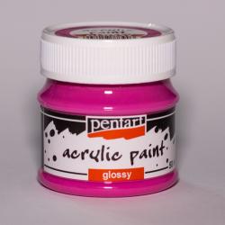 PEN-2774   Farba akryl lesklá- Magenta 50ml
