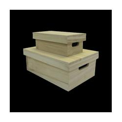 PEN-5858 Set drevený box 39,7x19,8x11cm