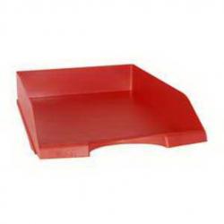F-36263 Červený šuflík na dokumenty A4 plastový