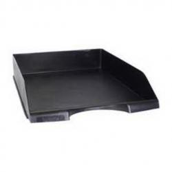 F-36265 Čierny šuflík na dokumenty A4 plastový