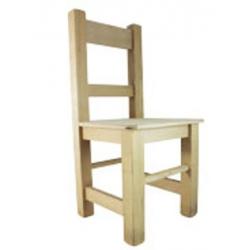 PEN-6286 stolička drevená 25x24x53cm