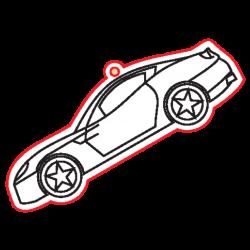 PEN-22840 Drevená figurka auto 5ks