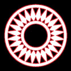 PEN-22854 Drevená figurka kruh 6ks