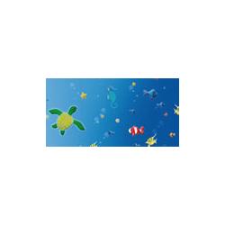 FOL-A4705 A4 Dekor papier 270g Pod vodou