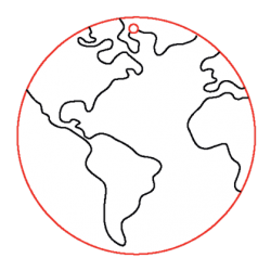 PEN-23168 Drevená figurka 5ks Globus