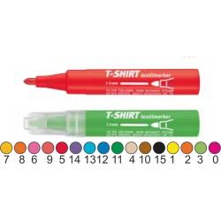 ICO-ITF45  Popisovač na textil  - neon zelený