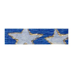 KP-53  Krepový papier 0,5x2m Hviezdy