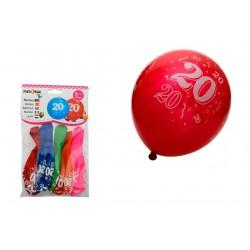 PF-21011 Balón 30cm/5ks číslo 20