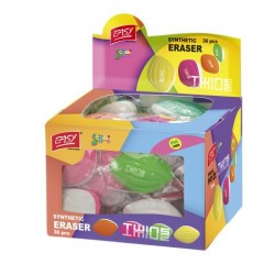 ES-837760 Pryž TWINS mix farieb 36 ks balenie