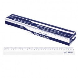 ES-837814 Pravítko 30cm box 25 ks