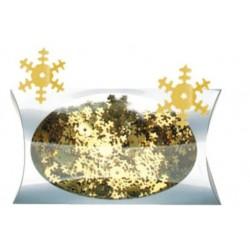 AN1925-2 vločky zlaté konfety 20g/1,8cm