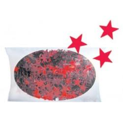 AN1926-3 hviezdy červené konfety 20g/1cm
