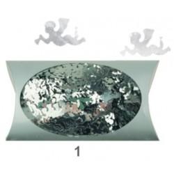 AN1974-1 anjelikovia strieborny konfety 20g/2cm
