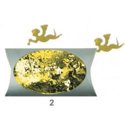 AN1974-2 anjelikovia zlatý konfety 20g/2cm