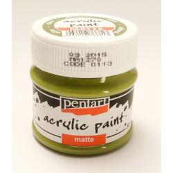 PEN-113 Olivová farba akryl matná 50ml