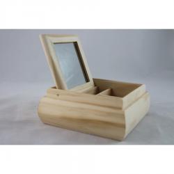 PED-11278  Box so zrkadlom 19,5x19,5x6cm