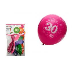 PF-21013 Balón 30cm/5ks číslo 30