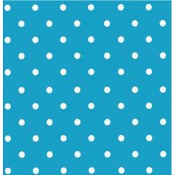 TAP - 12705 Tapeta Dots Aqua 45cm x 15m