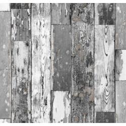 TAP - 13401 Tapeta Scrapwood dark 67,5cm x 15m