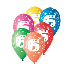 G301564 5ks balón 30cm nar.6