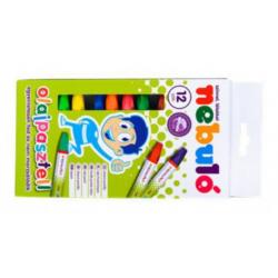 NB01 - Olejové pastelky 12