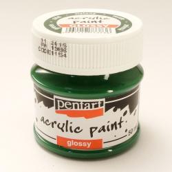 PEN-1154   Farba akryl lesklá- Zelená 50ml