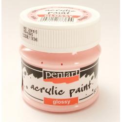 PEN-1936   Farba akryl lesklá- Rúžová 50ml