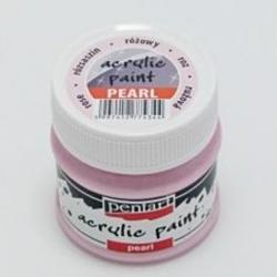 PEN-3536   Farba akryl -Ružová perleťová 50ml