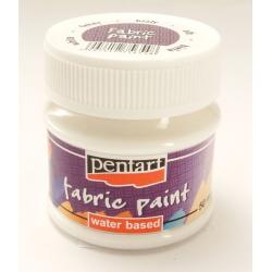 PEN-3470  Textilná farba  Biela 50ml