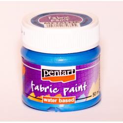 PEN-6186  Textilná farba  Metal svetlomodrá 50ml