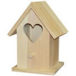 PEN-8017 Vtáčia búdka so srdcovým otvorom