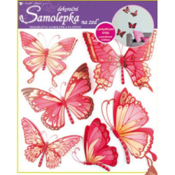 AN-655 motýle 3D dekorácie