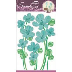 WB-207/1382 Modré kvety