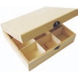 PED-5804  Box na čaj 9 priehradok 22x19x7cm