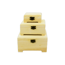 PED-6340  Set boxov 3 kusy 15x12x8,5cm