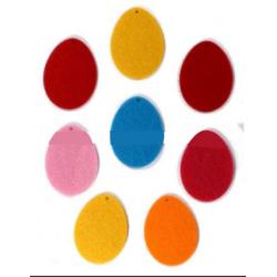 CFA-407 Vajíčka filc 8ks 5x4cm