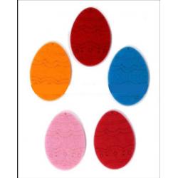 CFA-409 Vajíčka filc 5ks 6x5cm