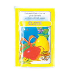 AN-7011 farba na vajíčka žltá 5g