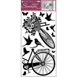 WB-063/10187 Bicykel a vtáky