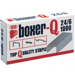 ICO-BoxerQ 24/6  spony do zošívačky 24mm 1000ks