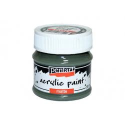 PEN-13112 Kaki farba akryl matná 50ml