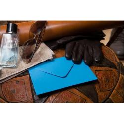 KAS-C678 Farebná obálka 16,2x11,4cm- kraľ modrá
