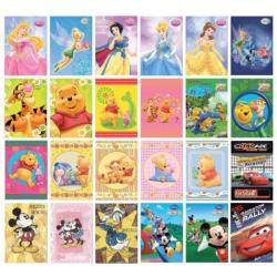 PKPD Disney pohľadnice 24ks