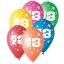 Balóny s číslami